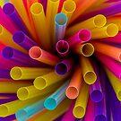 Coloured Straws by Keith G. Hawley