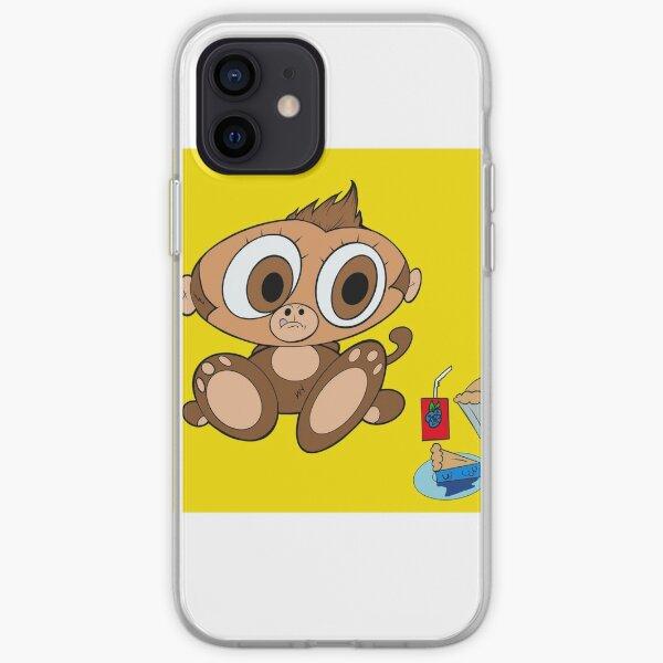 Hungry Monkey iPhone Soft Case