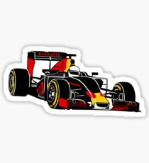 Red Bull Racing Sticker Redbubble