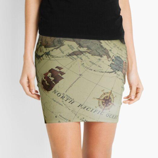 Universe Travel Science Exploration Mini Skirt