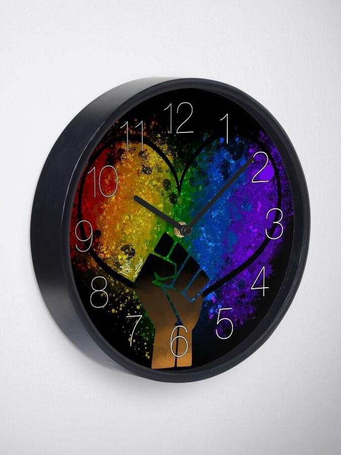 Alternate view of Power in Love Clock