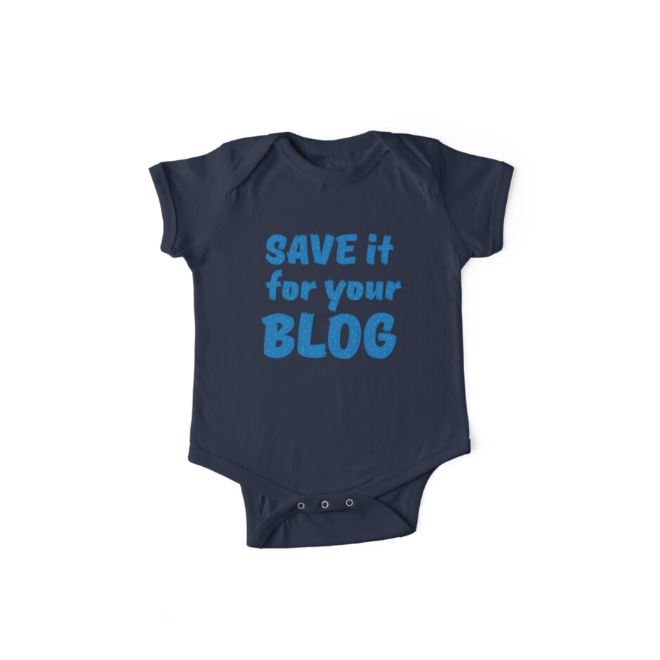 Save it for your blog by jazzydevil