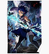 Aqua Anime Poster