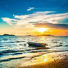 Sunset along the coast by kawing921