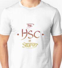The HSC Is Stupid - Red & Orange Unisex T-Shirt