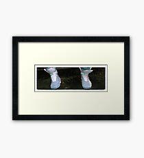 Shoes Marty McFly BTF  Framed Print