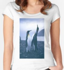 King Penguins Women's Fitted Scoop T-Shirt