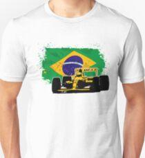 Formula 1 Racing - Brazil Flag T-Shirt