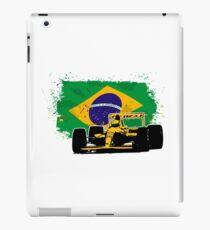 Formula 1 Racing - Brazil Flag iPad Case/Skin