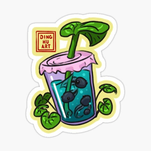 Boba Tea Tadpole Sticker