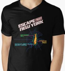 ESCAPE FROM NEW YORK - ISLAND MAP (1) T-Shirt