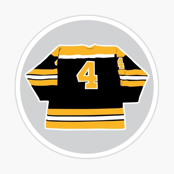 Bobby Orr - Number 4 Sticker