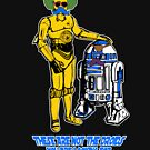 Not the droids you are looking for by Octochimp Designs