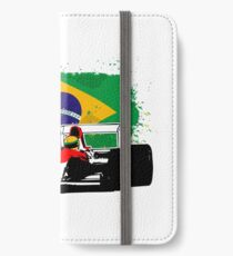 Formula 1 Racing - Brazil Flag iPhone Wallet/Case/Skin