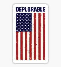 Deplorable  Sticker