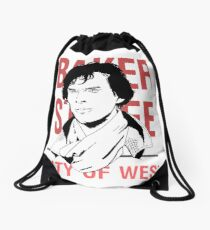 sherlock #2 Drawstring Bag