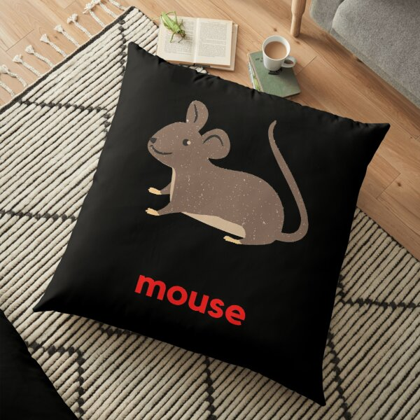 Mouse Floor Pillow
