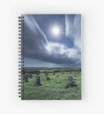 The Merry Maidens by Moonlight Spiral Notebook