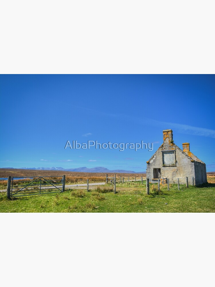 Moines Cottage, Tongue, Sutherland. by AlbaPhotography