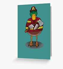 Fire Drake Greeting Card