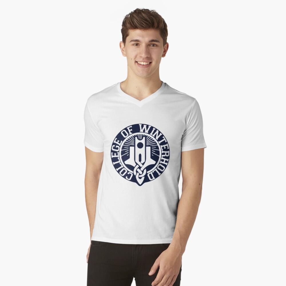 College of Winterhold V-Neck T-Shirt