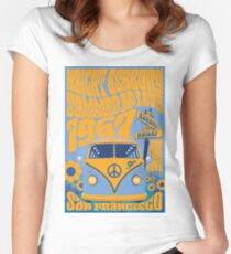 Haight Ashbury Summer Of Love Women's Fitted Scoop T-Shirt