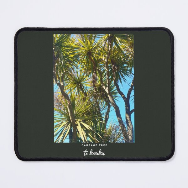 New Zealand Cabbage Tree Mouse Pad