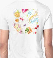 """wall art """"like a light summer breeze"""" Unisex T-Shirt"""