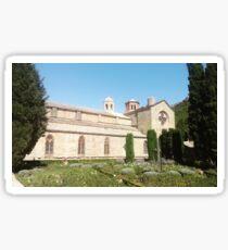 Abbaye de Fontfroide, France Sticker
