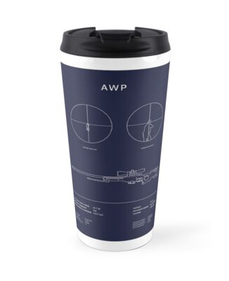 Csgo awp blueprint travel mugs by majorsales redbubble csgo awp blueprint by majorsales malvernweather Choice Image