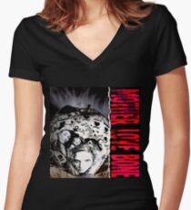 Mother Love Bone Fan Gifts & Merchandise Women's Fitted V-Neck T-Shirt