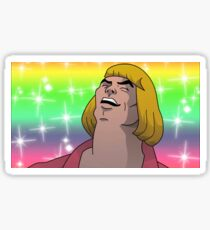 HE MAN - HEYAYEAYE HIGH RESOLUTION AND DETAIL, VIRAL MEME, MEME, DANK MEME, AND I SAID WHAT'S GOING ON Sticker