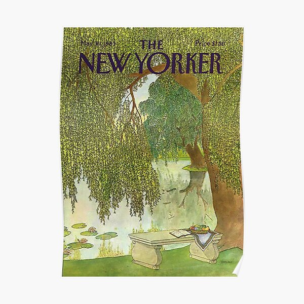 The New Yorker Magazine May 1983 Poster