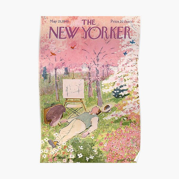 The New Yorker May Magazine 1949 Poster