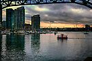 False Creek at Sunset by Yukondick