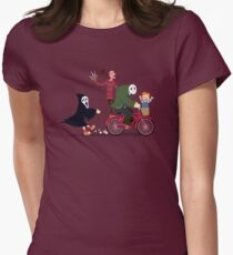 Horror Night Off Women's Fitted T-Shirt