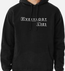 Sudadera con capucha House MD Everybody Lies Hugh Laurie