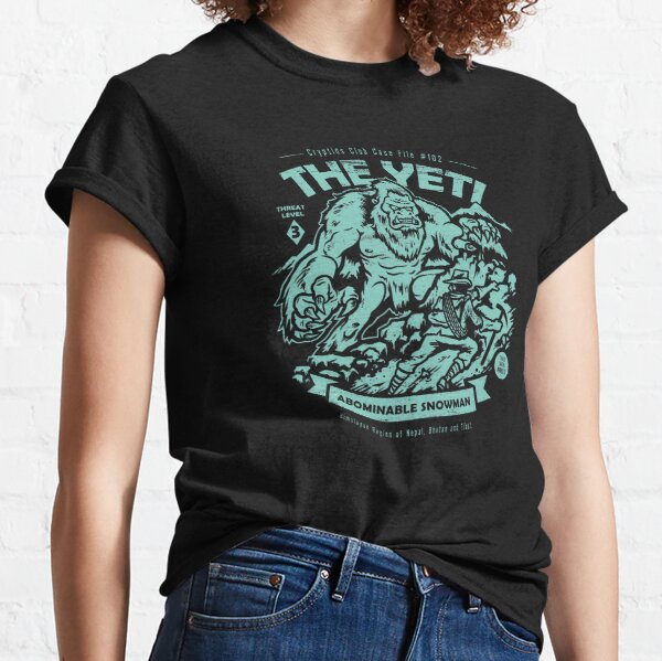 The Yeti - Cryptids club Case file #102 Classic T-Shirt