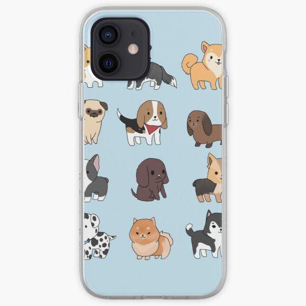 Dogs iPhone Soft Case