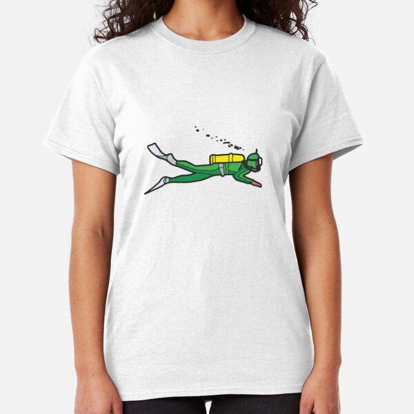 Green Diver Classic T-Shirt