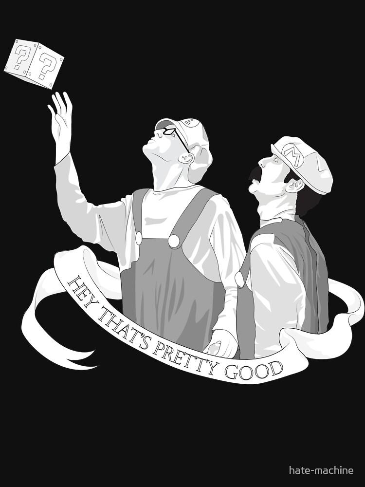 "Super Trash Bros iDubbbz and Filthy Frank -- ""Hey That's Pretty Good"" by hate-machine"