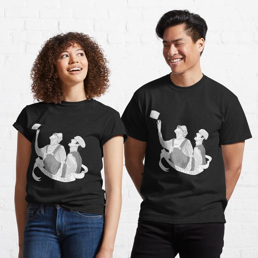 "Super Trash Bros iDubbbz and Filthy Frank -- ""Hey That's Pretty Good"" Classic T-Shirt"