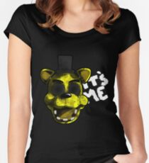 Golden Freddy Women's Fitted Scoop T-Shirt