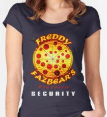 Camiseta entallada de cuello redondo Empleado oficial de la pizzería de Freddy Fazbear