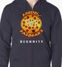 Official Employee of Freddy Fazbear's Pizzeria Zipped Hoodie