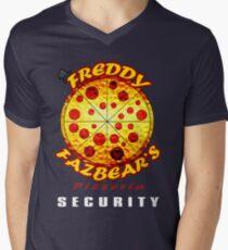 Official Employee of Freddy Fazbear's Pizzeria Men's V-Neck T-Shirt