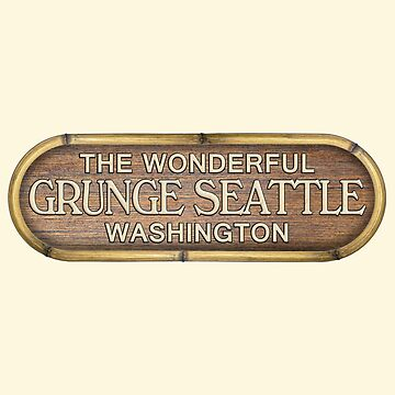 Grunge Seattle Washington by shviala