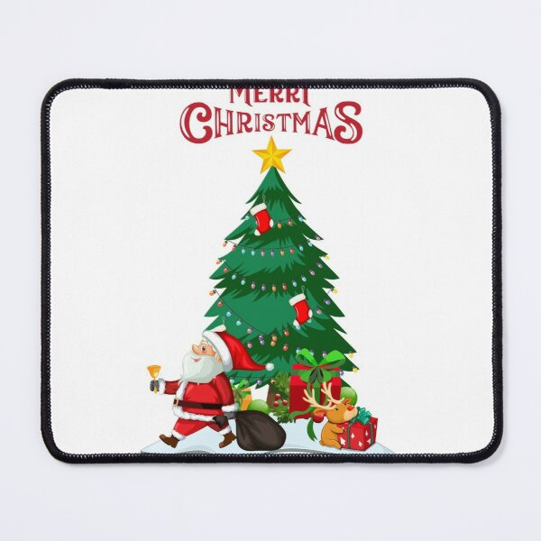 Merry christmas Winter Festival Mouse Pad