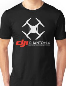 DJI Phantom 4 Drone black Unisex T-Shirt