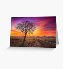 Colour Visions of Fall Greeting Card